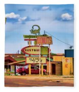America's Mainstreet Fleece Blanket