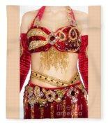 Ameynra Design - Belly Dance Costume - By Sofia Goldberg Fleece Blanket