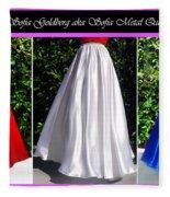 Ameynra Design. Satin Skirts - Red, White, Blue Fleece Blanket