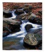 Amicalola Stream Fleece Blanket