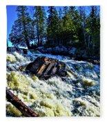 Amincon River Rootbeer Falls Fleece Blanket