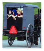 Amish Country Tour Fleece Blanket