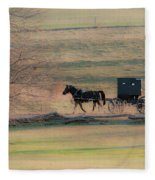 Amish Dream Fleece Blanket