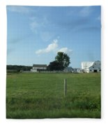 Amish Homestead 38 Fleece Blanket