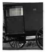 Amish Wagon _pa Fleece Blanket
