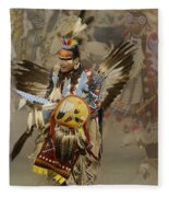 Pow Wow Among Friends Fleece Blanket