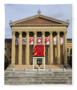 Amore - The Philadelphia Museum Of Art Fleece Blanket