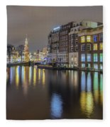 Amsterdam Colors Fleece Blanket