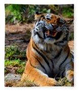 Amur Tiger 7 Fleece Blanket