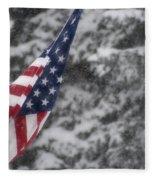 An American Winter Fleece Blanket