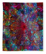 Early November Dream Fleece Blanket