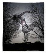 An Eclipse Of The Heart? Fleece Blanket
