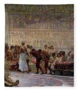 An Egyptian Feast Fleece Blanket