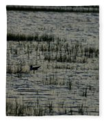 An Evening Float Fleece Blanket