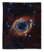 A Look In Infrared At The Helix Nebula Fleece Blanket