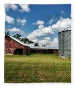 An Iowa Farm Fleece Blanket