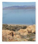 An Island View 2 Fleece Blanket