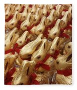 An Ocean Of Bunnies Fleece Blanket