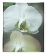 An Orchid For You Fleece Blanket