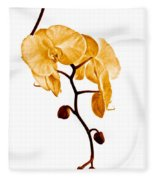 An Orchid's Perfume Fleece Blanket