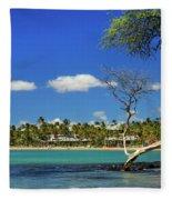 Anaehoomalu Bay Fleece Blanket
