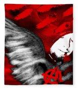 Anarchy Angel Fleece Blanket