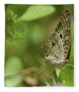 Anartia Butterfly In Wonderland  Fleece Blanket