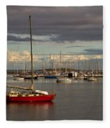 Anchored Fleece Blanket