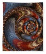 Ancient Circularis Fleece Blanket