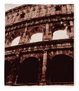 Ancient Colosseum, Rome Fleece Blanket