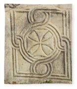 Ancient Cross Pattee Fleece Blanket