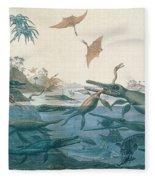 Ancient Dorset Fleece Blanket
