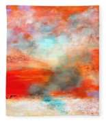 Ancient Dreams II Fleece Blanket