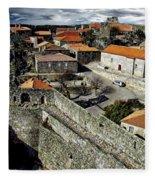 Ancient Portuguese Cities Fleece Blanket