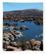 Ancient Rocks Fleece Blanket