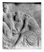 Ancient Roman Relief Carving Of Midwife Fleece Blanket