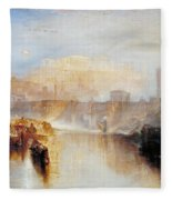 Ancient Rome - Agrippina Landing With The Ashes Of Germanicus Fleece Blanket