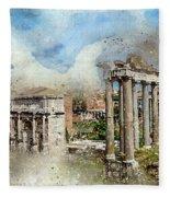 Ancient Rome II Fleece Blanket