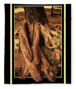 Ancient Roots Of Greece Fleece Blanket