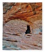 Ancient Ruins Mystery Valley Colorado Plateau Arizona 05 Fleece Blanket