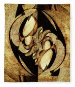 Ancient Symbols Fleece Blanket