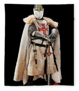 Ancient Templar Knight - 02 Fleece Blanket