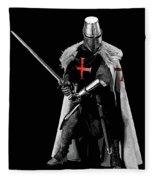 Ancient Templar Knight - 05 Fleece Blanket