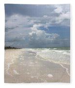 Anclote Key Beach Fleece Blanket