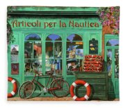 Ancora Una Bicicletta Rossa Fleece Blanket