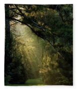 And A New Day Will Dawn... Fleece Blanket