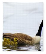 And The Littlest One Shall Lead The Way Fleece Blanket