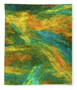 Andee Design Abstract 16 B 2018 Fleece Blanket