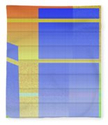 Andee Design Abstract 2 Of The 2016 Collection Fleece Blanket