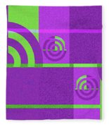 Andee Design Abstract 4 Of The 2016 Collection Fleece Blanket